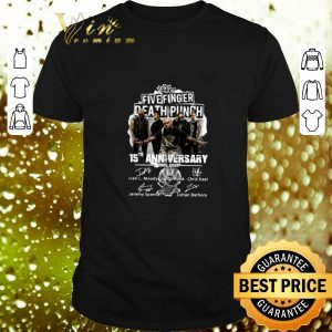 Nice Five Finger Death Punch 15th anniversary 2005-2020 signatures shirt