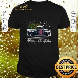 Nice Houston Texans truck Merry Christmas shirt
