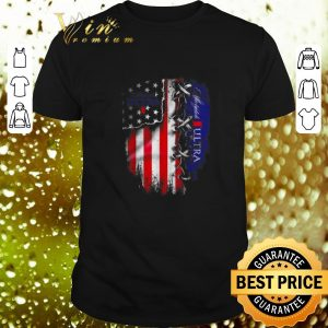 Nice Michelob Ultra beer inside American flag shirt