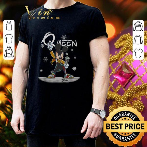 Nice Mickey Freddie Mercury Queen Christmas shirt