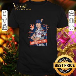 Nice Pete Alonso 2019 National League Rookie of the year New York Mets shirt