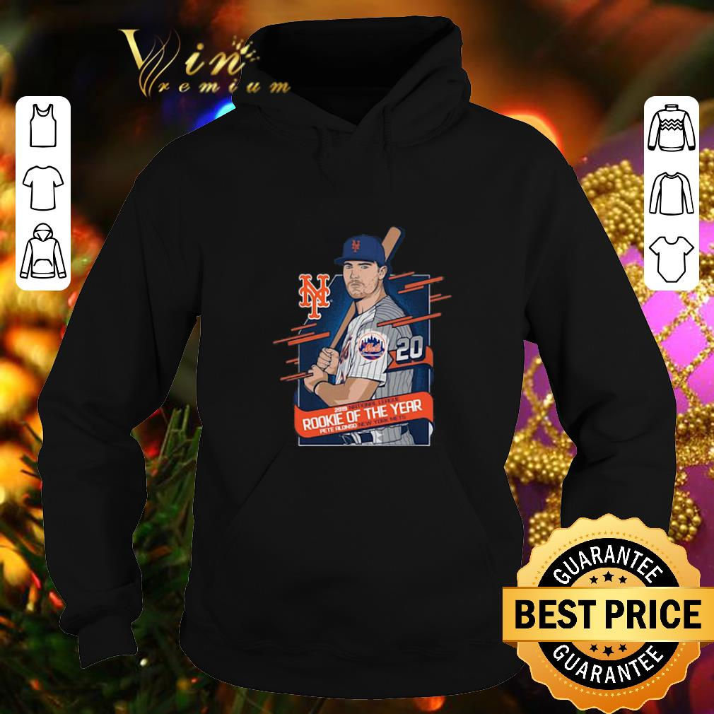 Nice Pete Alonso 2019 National League Rookie of the year New York Mets shirt 4 - Nice Pete Alonso 2019 National League Rookie of the year New York Mets shirt