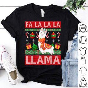 Official Funny Ugly Christmas Cute Llama shirt