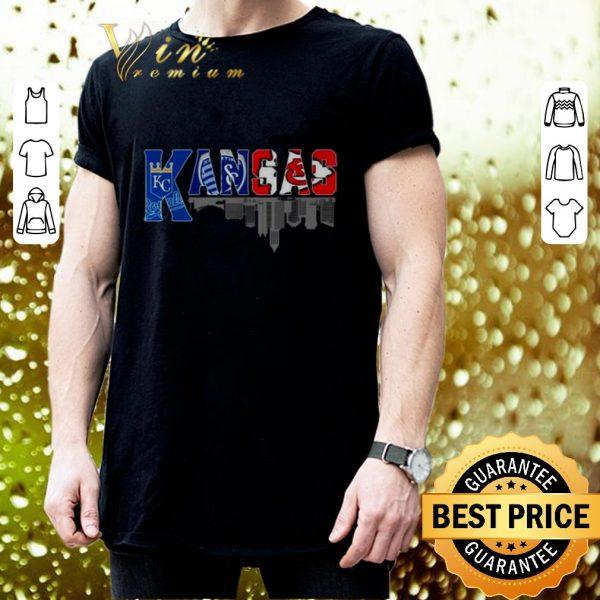 Official Kansas sport team Kansas City Royals Kansas City Chiefs shirt