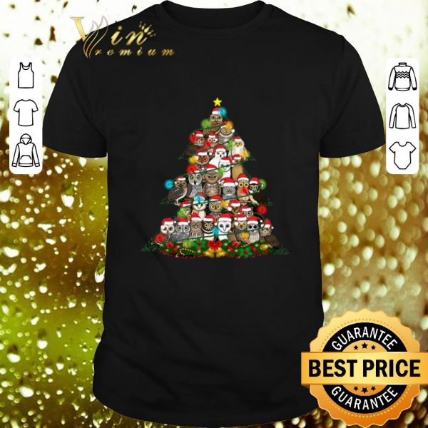 Official Owls Christmas tree shirt