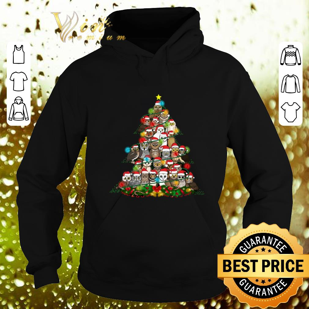 Official Owls Christmas tree shirt 4 - Official Owls Christmas tree shirt