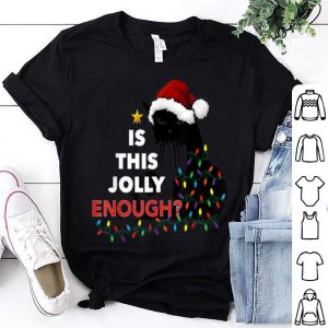 Original Black Cat Christmas Tree Is This Jolly Enough Funny Cat Gift sweater