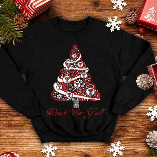Original Texas Tech Red Raiders Christmas Tree - Apparel shirt