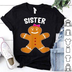 Premium Gingerbread Sister Christmas Matching Pajamas sweater