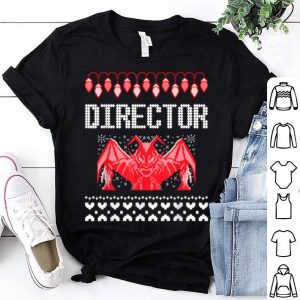 Pretty Funny Devil Director Ugly Christmas Chief Sweater Xmas Party shirt