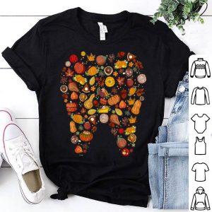 Pretty Funny Thanksgiving Tooth Dental Hygiene Dentist Gift shirt
