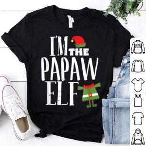 Pretty Mens I'm The Papaw Elf Matching Family Christmas Pajama shirt