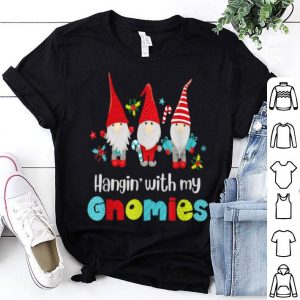 Awesome Hangin' Hanging with my Gnomies Cute Christmas Gift for Kids sweater