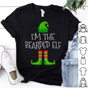 Awesome I'm The Bearded Elf Family Matching Christmas Pajama Gifts sweater