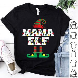 Awesome Mama ELF Heart Christmas Matching Family Gift Ugly sweater