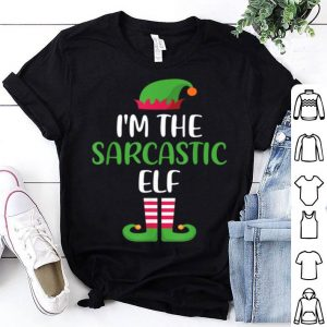 Beautiful I'm The Sarcastic Elf - Matching Family Group Christmas sweater