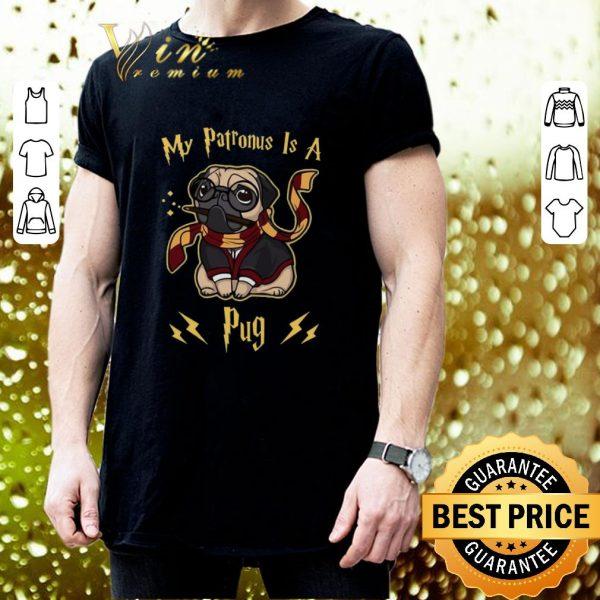 Cool Harry Potter My Patronus is a Pug shirt