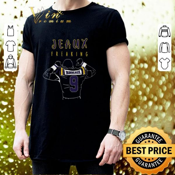 Cool Jeaux Freaking Joe Bureaux 9 LSU Tigers shirt