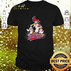 Cool St. Louis Cardinals Mickey Donald And Goofy shirt