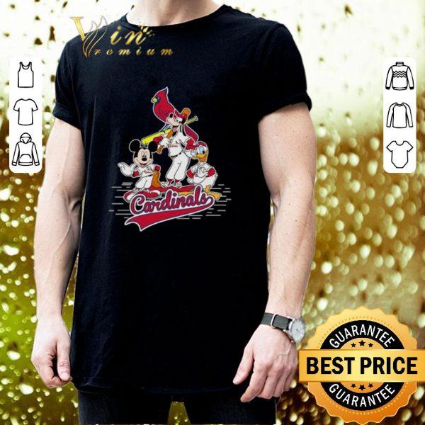 Cool St. Louis Cardinals Mickey Donald And Goofy shirt
