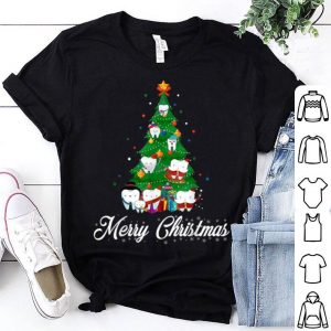 Cute Tooth Christmas Tree Xmas Tee Dental Assistant Gifts sweater