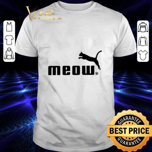 Nice Cat meow Puma shirt