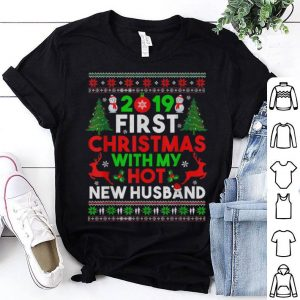 Nice First Christmas with my Hot New Husband Gifts For Men Women sweater
