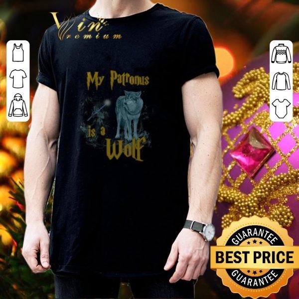 Nice Harry Potter My Patronus Is A Wolf shirt