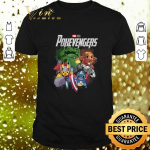 Nice Marvel Avengers Endgame Poke Monvel Pokevengers shirt