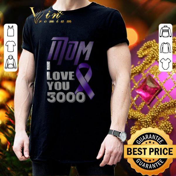 Nice Mom i love you 3000 Breast Cancer Awareness shirt