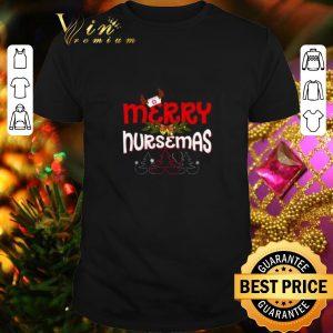 Nice Nurse merry nursemas Christmas shirt