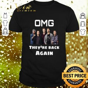 Official Backstreet Boy OMG They're Back Again shirt