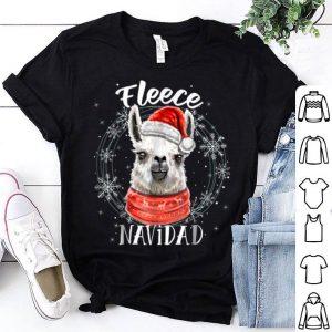 Official Fleece Navidad Christmas Llama Llama Christmas Gifts sweater