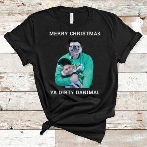 Official Merry Christmas Ya Dirty Danimal Pugly shirt