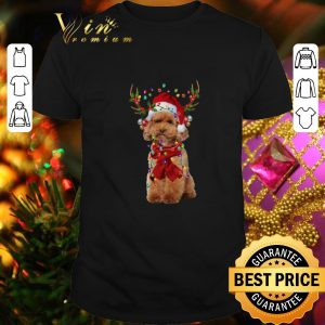 Official Poodle Reindeer Christmas shirt