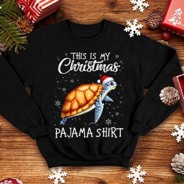 This Is My Christmas Pajama Shirt - Gift For Turtle Lover sweater