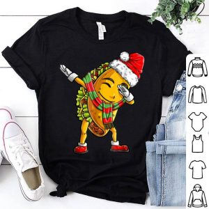 Top Dabbing Taco Santa Christmas Kids Boys Girls Gifts sweater