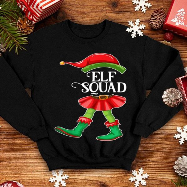 Top Elf Squad Christmas Matching Family Group X-mas Pajama Gift sweater