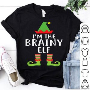 Top I'm The Brainy Elf Matching Family Group Christmas sweater