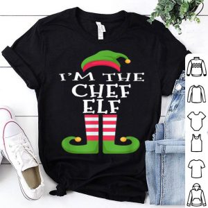 Top I'm The Chef Elf Family Matching Funny Christmas sweater