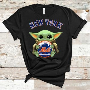 Top Star Wars Baby Yoda Hug MLB New York Mets shirt