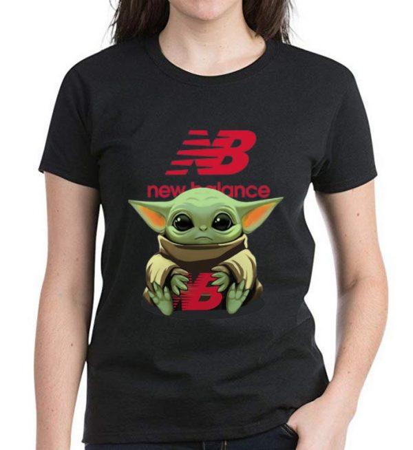 Great Star Wars Baby Yoda Hug New Balance shirt