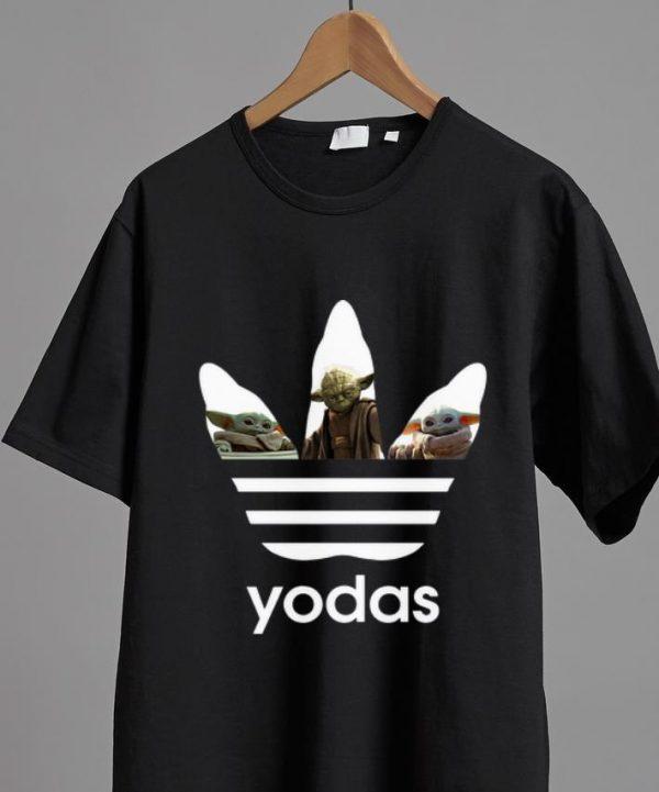 Nice Adidas Master Yoda And Baby Yoda shirt