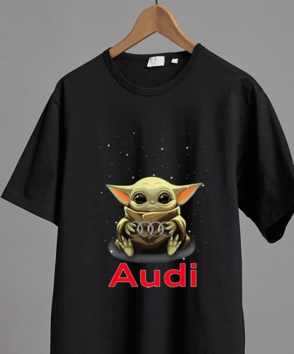 Official Star Wars Baby Yoda Hug Audi shirt