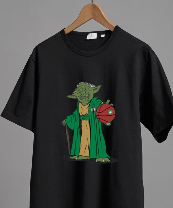 Pretty Master Yoda NBA Boston Celtics shirt