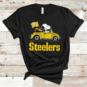 Pretty Snoopy Driving Volkswagen Pittsburgh Steelers shirt