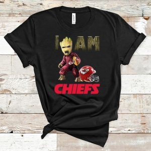 Awesome Kansas City Chiefs I Am Baby Groot shirt