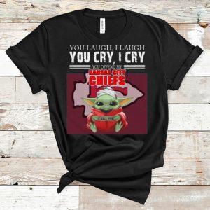 Great Baby Yoda You Offend My Kansas City Chiefs I Kill You shirt