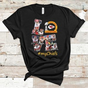 Great Love Kansas City Chiefs Super Bowl Liv Champions #Mychiefs shirt