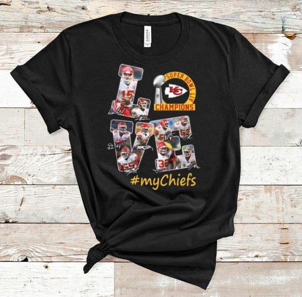 Great Love Kansas City Chiefs Super Bowl Liv Champions #Mychiefs shirt